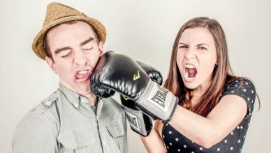 kłótnie w związku